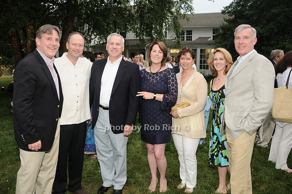 Chris Kelly, Steve Maietta, Tim Breneman,Debbie Brenneman, Claudia Pilato, Nicole LaBarbera, David Kelley<br /> photo by Rob Rich © 2010 robwayne1@aol.com 516-676-3939