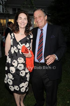 Virgina Coleman, Peter Duchin<br /> photo by Rob Rich © 2010 robwayne1@aol.com 516-676-3939