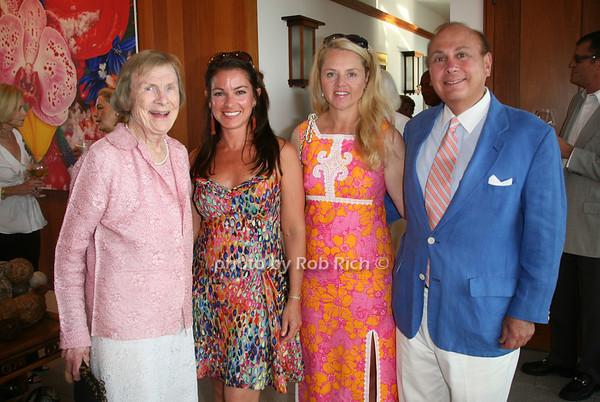 Geegee Maxwell, Annie Falk, Susan Cushing, Hunter Cushing<br /> photo by Jakes for Rob Rich © 2010 robwayne1@aol.com 516-676-3939