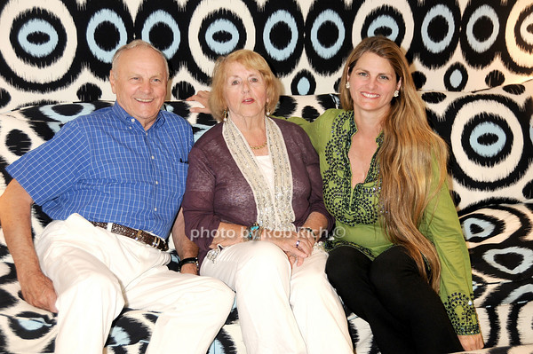 Jim Comley, Virginia Comley, Bonnie Comley<br /> photo by Rob Rich © 2010 robwayne1@aol.com 516-676-3939