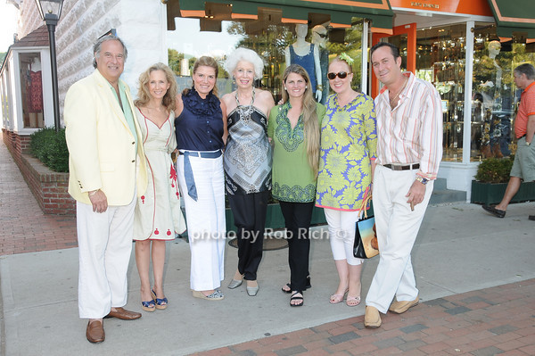 Stewart Lane, Amy Eller, Alessa Herbosch, Jano Herbosch, Bonnie Comley, Irina Vodar, Ed Sullivan<br /> photo by Rob Rich © 2010 robwayne1@aol.com 516-676-3939