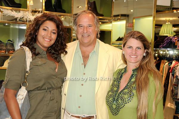 Brittany, Stewart Lane, Bonnie Comley<br /> photo by Rob Rich © 2010 robwayne1@aol.com 516-676-3939