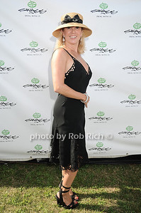 Ramona Singer at the opening day of Mercedes-Benz Polo Challenge at blue Star Jets Field in Bridgehampton on July 24, 2010.  photo by Rob Rich/SocietyAllure.com