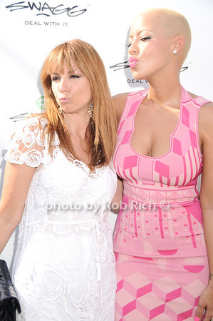 Jill Zarin, Amber Rose<br /> photo by Rob Rich © 2010 robwayne1@aol.com 516-676-3939