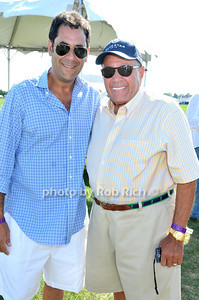 Todd Rome, Ray Caldiero at Week Three of the Mercedes-Benz Polo Challenge at Blue Star Jets Field in Bridgehampton on August 7, 2010. photo by Rob Rich/SocietyAllure.com