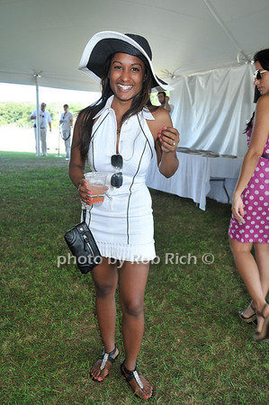 Serica Khan<br /> at Week Three of the Mercedes-Benz Polo Challenge at Blue Star Jets Field in Bridgehampton on August 7, 2010. photo by Rob Rich/SocietyAllure.com