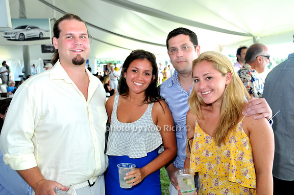 Brendon Ryan, Erin Geismar, Brian Michalski, Lily Vonnegut<br /> photo by Rob Rich © 2010 robwayne1@aol.com 516-676-3939