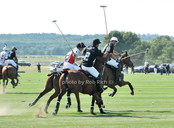 Playing Polo<br /> at Week Three of the Mercedes-Benz Polo Challenge at Blue Star Jets Field in Bridgehampton on August 7, 2010. photo by Rob Rich/SocietyAllure.com