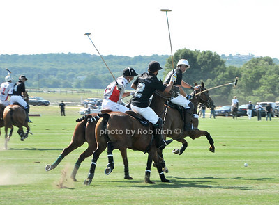 Playing Polo at Week Three of the Mercedes-Benz Polo Challenge at Blue Star Jets Field in Bridgehampton on August 7, 2010. photo by Rob Rich/SocietyAllure.com
