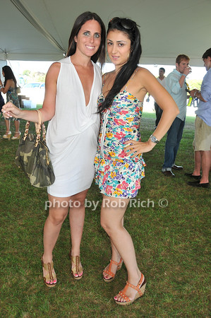 Lauren Morris, Savina Sananov<br /> at Week Three of the Mercedes-Benz Polo Challenge at Blue Star Jets Field in Bridgehampton on August 7, 2010. photo by Rob Rich/SocietyAllure.com
