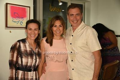 Julie Romo, Maria Fishel, and Ken Fishel photo by Rob Rich/SocietyAllure.com © 2016 robwayne1@aol.com 516-676-3939