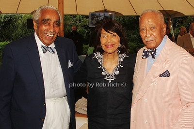 Charles Rangel, Alma Rangel and David Dinkins