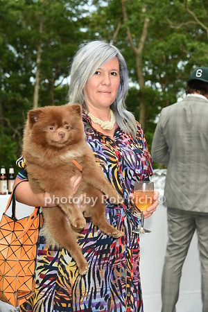 Kathy Grayson and dog Bertie photo by Rob Rich/SocietyAllure.com © 2016 robwayne1@aol.com 516-676-3939