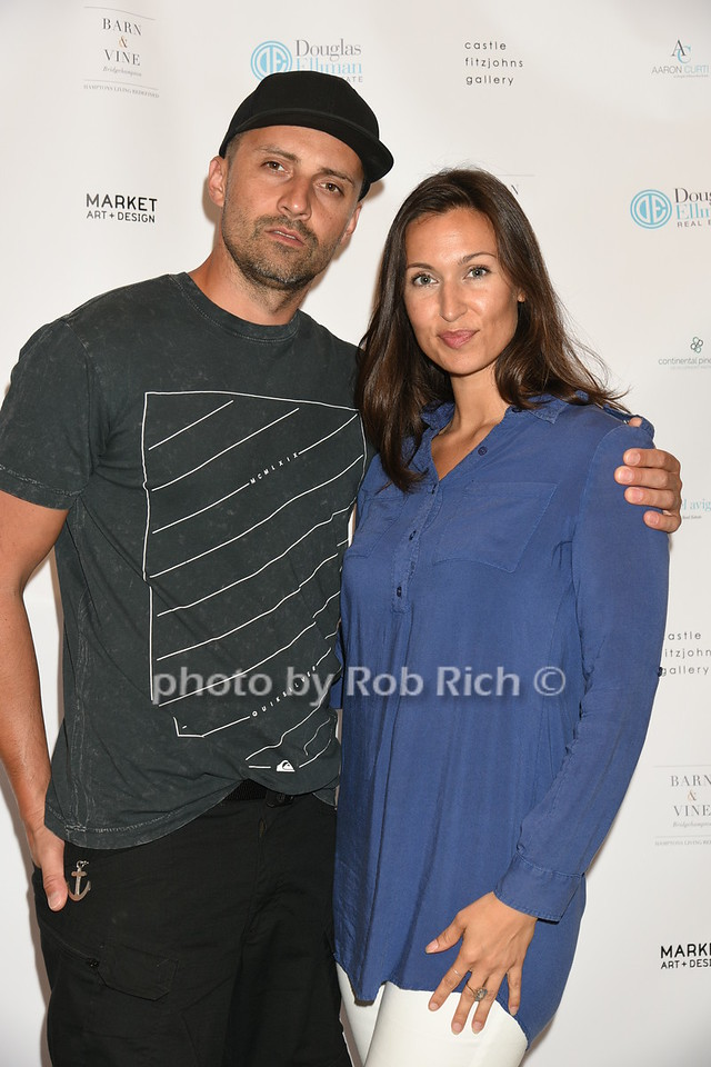 Pavel Peskal and Danielle Franz