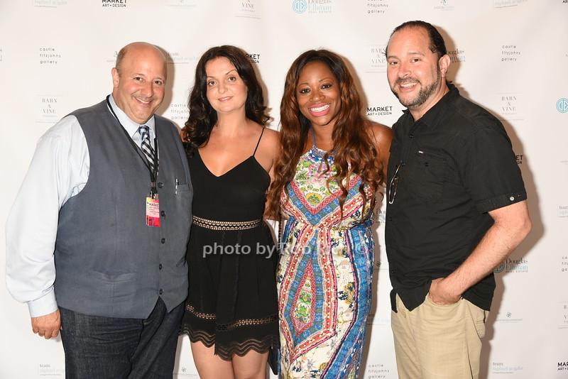 Adina Azerarian, Raphael Avigdor,  Bershan Shaw, and Greg Pravdaphoto by Rob Rich/SocietyAllure.com © 2016 robwayne1@aol.com 516-676-3939