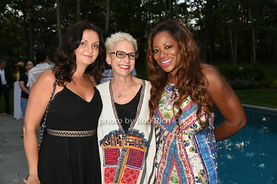 Adina Azerarian, Dawn Doherty, and Bershan Shaw photo by Rob Rich/SocietyAllure.com © 2016 robwayne1@aol.com 516-676-3939