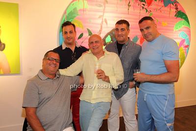 Joe Prezioso,  Anthony Latona, Joe Rinaldo, Joseph Latona and John Bostany