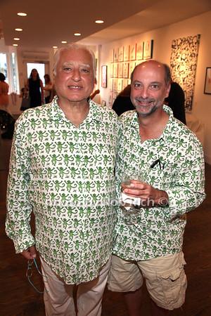 Ezra Chammah and Bruce Greenberg
