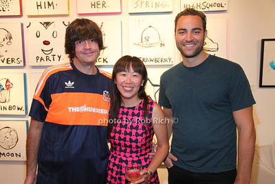 Jeff Jacobs, Felicia Wong and Max Makewell