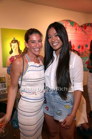 Paige Kramer and Iris Ladao