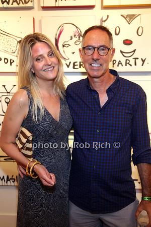 Sarah Alford and Michael Untermmor