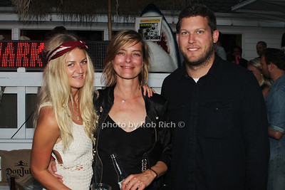 Caronline Fuss, Staci Dover and Ronnie Flynn