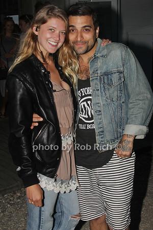 Erica Hicks and Jonny Lennon