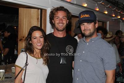 Savannah Engle, Michael Kilcullen and Bronson Lamb