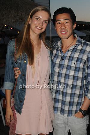 Mirte Maan and Alex Song