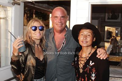 Jo Shane, Bon Melet and Yoko Arakawa