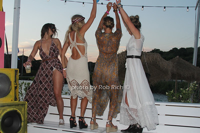 Natalie Colwell, Caroline Fuss, Gabriela Langone and Erin Sykes