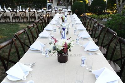 table setting  photo by Rob Rich/SocietyAllure.com © 2016 robwayne1@aol.com 516-676-3939