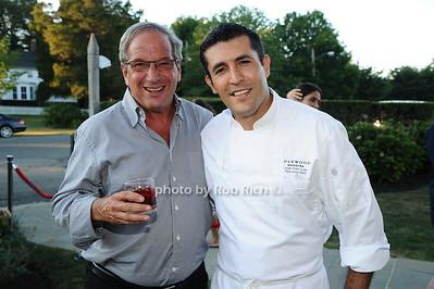 Neal Sroka and Chef Juan Pablo Loza  photo by Rob Rich/SocietyAllure.com © 2016 robwayne1@aol.com 516-676-3939