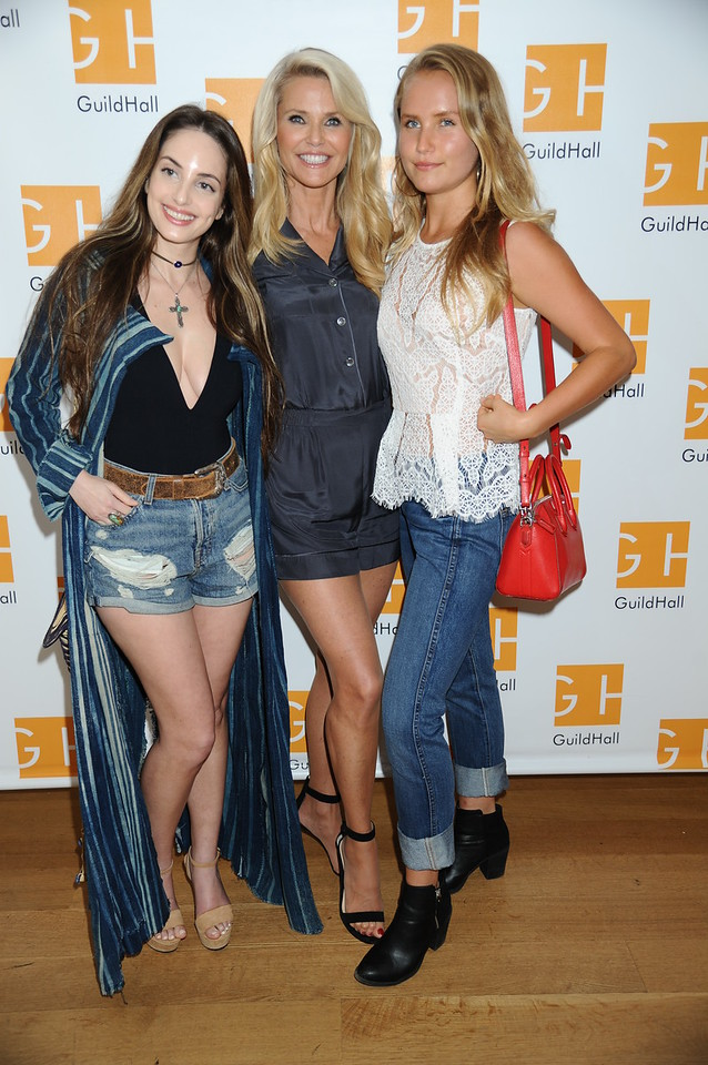 Alexa Ray Joel, Christie Brinkley, Sailor Cook 