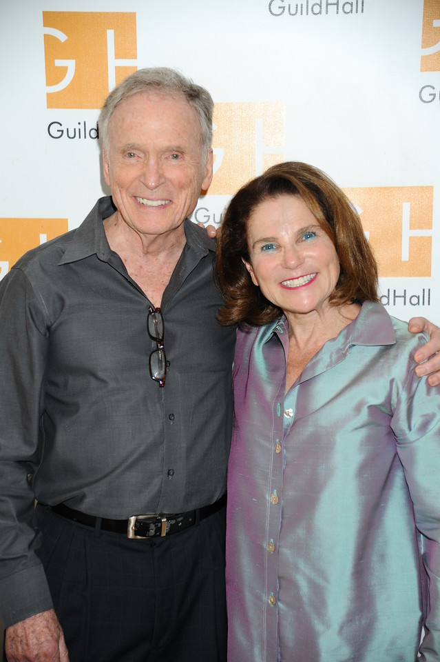 Dick Cavett and Tovah Feldshuh