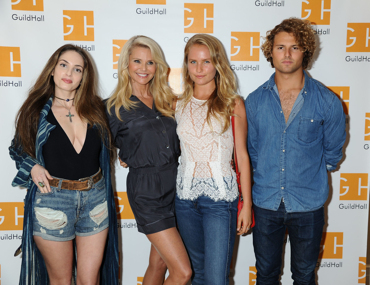 Alexa Ray Joel, Christie Brinkley, Sailor Cook, and Jack Cook