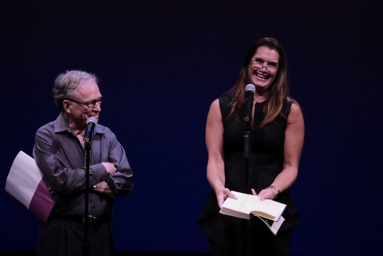 Dick Cavett, Brooke Shieldsphoto by Rob Rich/SocietyAllure.com © 2016 robwayne1@aol.com 516-676-3939