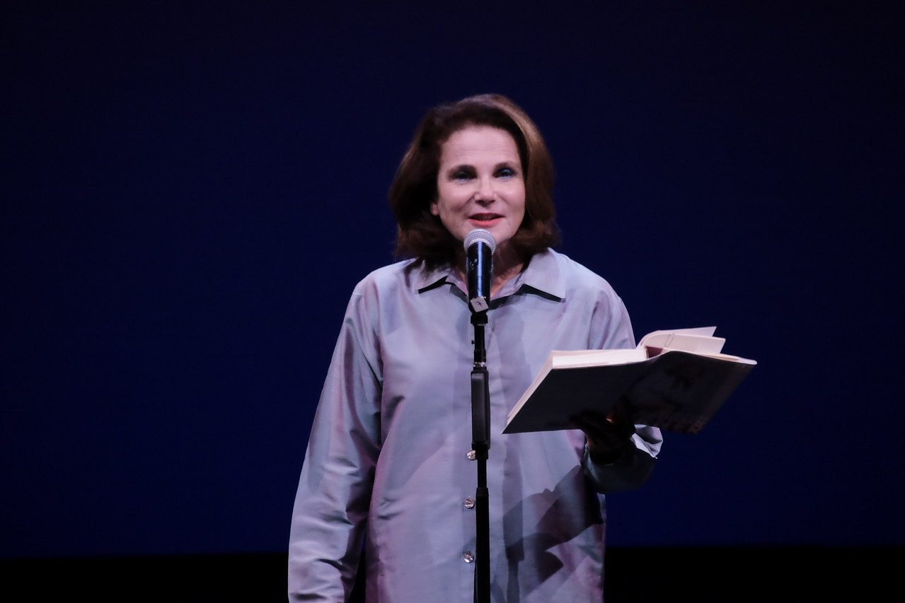 Tovah Feldshuh reads from the autobiography of Kathleen Turner at