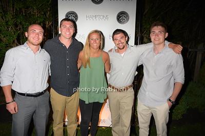 Brandon Moloney, Tim Murphy, Emily Downs, Brendan Eckart photo by Rob Rich/SocietyAllure.com © 2016 robwayne1@aol.com 516-676-3939