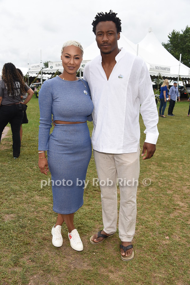 Michi Marshall and Brandon Marshall
