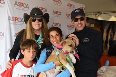 Thijs Lauer, Jill Rapport ,Romy Lauer, Mocha the Dog, and Matt Lauer photo by Rob Rich/SocietyAllure.com © 2016 robwayne1@aol.com 516-676-3939