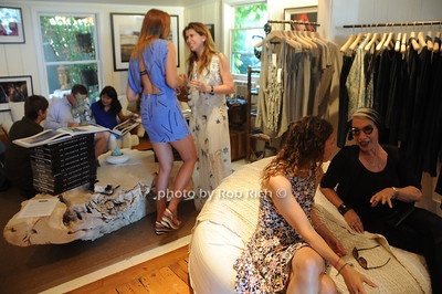 General scene of  David Heath Adventure Photographer Raises Funds to Give  Back  to Myanmar during book signing at Urban Zen boutique in Sag Harbor. July 23, 2016.