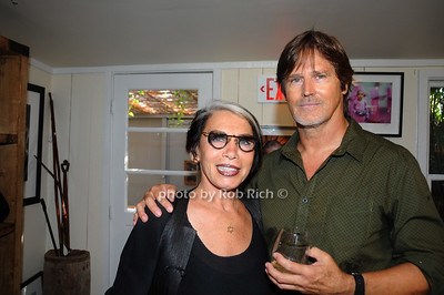 """Artis """"Vered"""" with  David Heath Adventure Photographer Raises Funds to Give  Back  to Myanmar during book signing at Urban Zen boutique in Sag Harbor. July 23, 2016."""