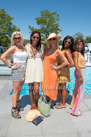 Margo Manhattan, Karen Pavlin, Luciana Pamplona, Nina Whittington Cooper and Fabienne Lecole