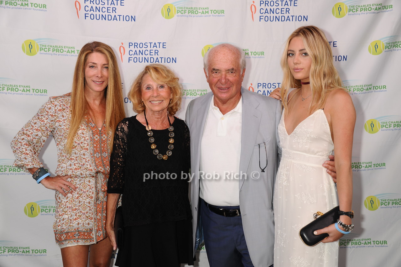 Erica Downs, Selma Rabin, Artie Rabin, and Oliva Prudente