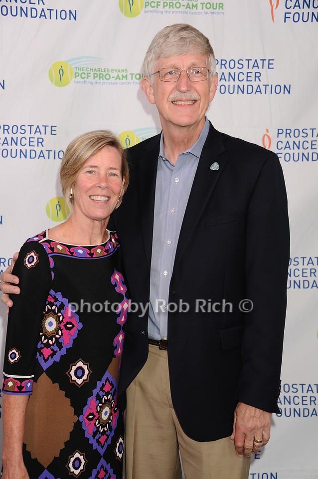 Francis Collins and Diane Bakerphoto by Rob Rich/SocietyAllure.com © 2016 robwayne1@aol.com 516-676-3939