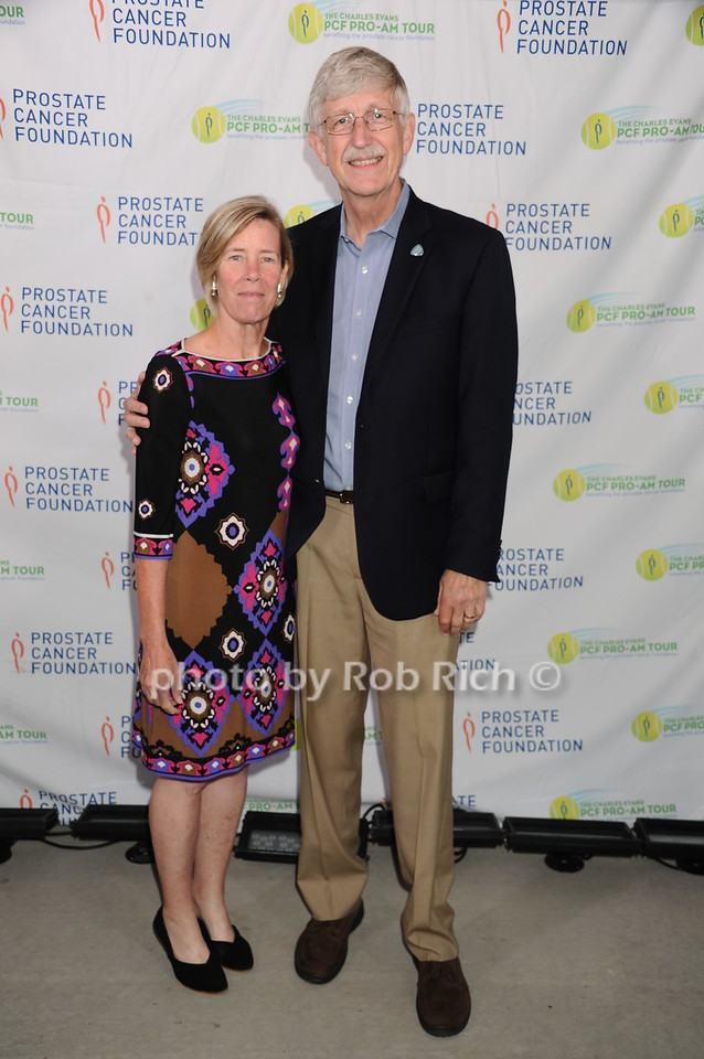Francis Collins and Diane Baker