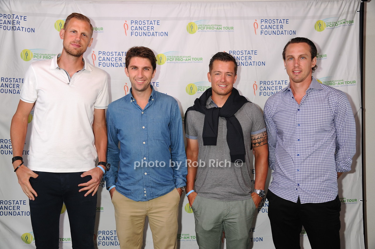 Andreas Siljestrom, Taavo Roos, Martin Emmrich, Robert Jendelund