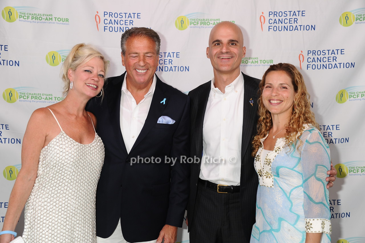 Jennifer Myles, Glenn Myles,  Mark Gerson and Erica Gerson
