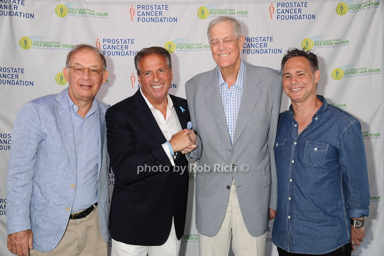 Emilio Bassini, Glenn Myles, David Koch, and Jason Binn
